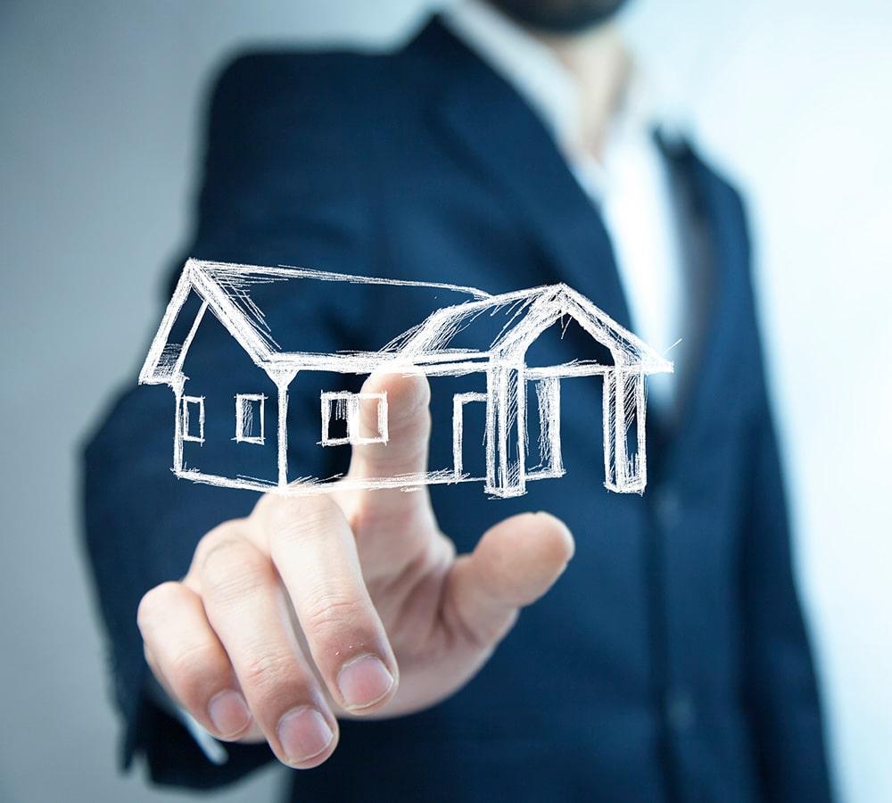 Real estate asset value