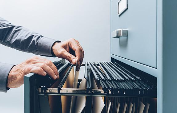 Internal document management