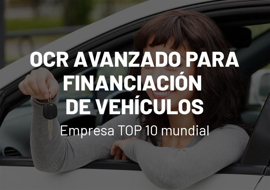 Caso de estudio OCR financiación de vehículos